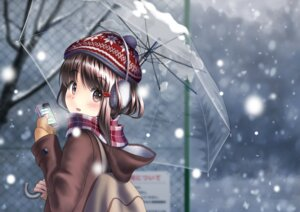 Rating: Safe Score: 25 Tags: sarekoube sweater umbrella User: Mr_GT