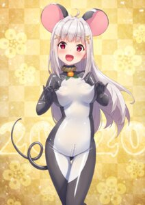 Rating: Questionable Score: 36 Tags: animal_ears bodysuit purinpu tagme tail User: Spidey