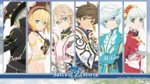 Rating: Safe Score: 21 Tags: alisha armor dezel dress edna lailah mikleo sorey tales_of_zestiria umbrella User: AsukaErika