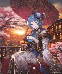 Rating: Safe Score: 20 Tags: ezusuke kimono shingeki_no_bahamut User: Mr_GT