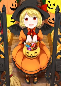 Rating: Safe Score: 11 Tags: dress halloween heels neko tsunamayo_(flying_cat) wings witch User: Mr_GT