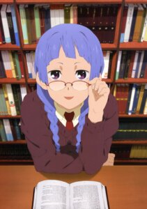 Rating: Safe Score: 15 Tags: kannagi_crazy_shrine_maidens megane nagi seifuku User: Aurelia
