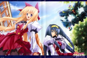 Rating: Safe Score: 11 Tags: himemiya_chikane kaishaku kannazuki_no_miko kurusugawa_himeko mecha User: blooregardo