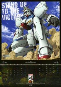 Rating: Safe Score: 7 Tags: calendar gundam mecha ueda_youichi victory_gundam User: Aurelia
