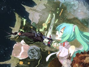 Rating: Safe Score: 8 Tags: hatsune_miku miku_append noco vocaloid vocaloid_append User: charunetra