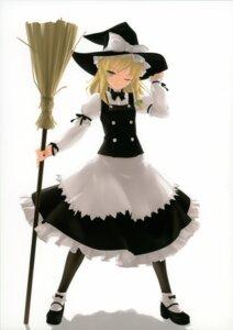 Rating: Safe Score: 24 Tags: enhance_heart kirisame_marisa pantyhose rokuwata_tomoe touhou witch User: midzki