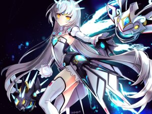 Rating: Safe Score: 43 Tags: elsword eve_(elsword) kuroshio_maki leotard thighhighs User: Nepcoheart
