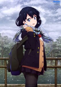 Rating: Safe Score: 117 Tags: miyazaki_shiori pantyhose seifuku ssss.gridman sweater takarada_rikka User: drop