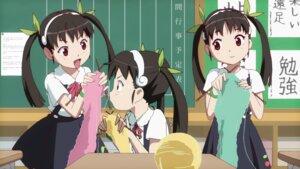 Rating: Safe Score: 29 Tags: bakemonogatari cap hachikuji_mayoi wallpaper User: Radioactive