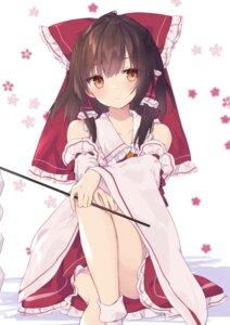 Rating: Questionable Score: 38 Tags: hakurei_reimu purin_jiisan skirt_lift tagme touhou User: Sodacooky