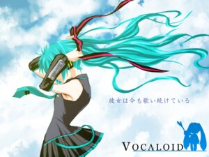 Rating: Safe Score: 17 Tags: hatsune_miku hcliz vocaloid wallpaper User: Brufh