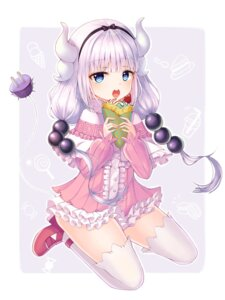 Rating: Safe Score: 22 Tags: dress heels horns kanna_kamui kobayashi-san_chi_no_maid_dragon now_(nowsicaa_) tail thighhighs User: yanis