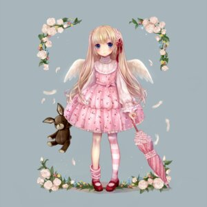 Rating: Safe Score: 26 Tags: dress jpeg_artifacts lolita_fashion sususuyo wings User: hobbito