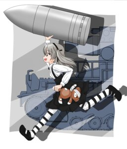 Rating: Safe Score: 12 Tags: girls_und_panzer minorihoujouakino pantyhose shimada_arisu weapon User: 川俣慎一郎