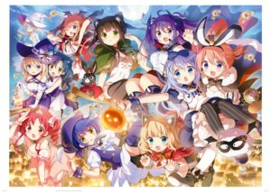 Rating: Safe Score: 9 Tags: gochuumon_wa_usagi_desu_ka? koi User: kiyoe