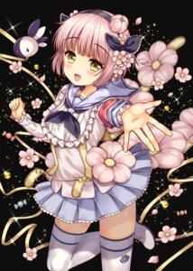 Rating: Safe Score: 31 Tags: heels himekawa_koyuki lyric mahou_shoujo_ikusei_keikaku seifuku thighhighs User: fairyren