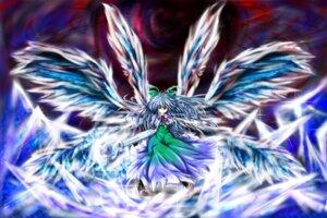 Rating: Safe Score: 10 Tags: pr0vidence reiuji_utsuho touhou wings User: MadMan