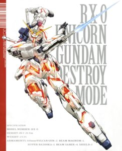 Rating: Safe Score: 6 Tags: gundam gundam_unicorn mecha naka_morifumi unicorn_gundam User: Aurelia