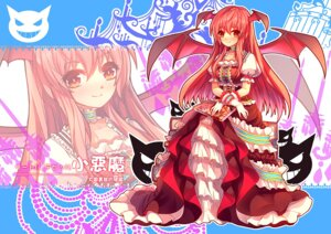 Rating: Safe Score: 32 Tags: dress eva200499 koakuma touhou wings User: fairyren