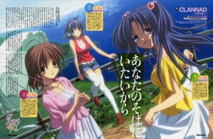 Rating: Safe Score: 5 Tags: clannad fixed fujibayashi_ryou furukawa_nagisa ichinose_kotomi ikeda_kazumi User: vita