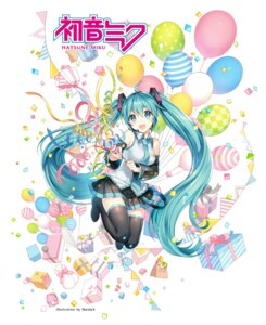 Rating: Safe Score: 66 Tags: hatsune_miku nardack thighhighs vocaloid User: Mr_GT