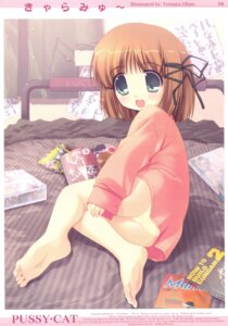 Rating: Questionable Score: 28 Tags: loli ohno_tetsuya pajama pantsu pussy_cat User: blooregardo