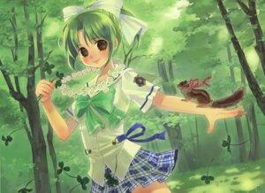 Rating: Safe Score: 14 Tags: august kuga_tsukasa seifuku toyama_midori yoake_mae_yori_ruriiro_na User: crim