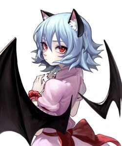 Rating: Safe Score: 3 Tags: animal_ears remilia_scarlet touhou wings zengxianxin User: nphuongsun93