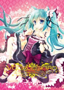 Rating: Safe Score: 35 Tags: animal_ears hatsune_miku mocha_(naturefour) nekomimi vocaloid User: ddns001