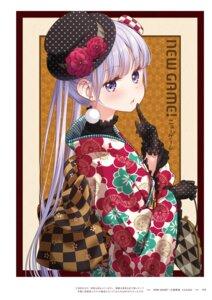 Rating: Questionable Score: 15 Tags: new_game! suzukaze_aoba tokunou_shoutarou User: kiyoe