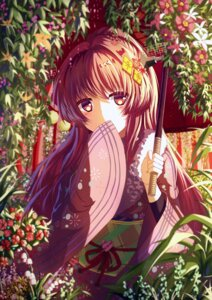 Rating: Safe Score: 32 Tags: isumi_(yangyan) kantai_collection kimono umbrella yamato_(kancolle) User: Mr_GT