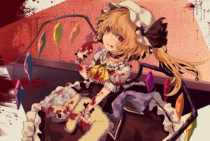 Rating: Safe Score: 10 Tags: berabou blood flandre_scarlet touhou wings User: Mr_GT