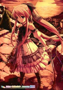 Rating: Safe Score: 60 Tags: blood dress hiiro_yuki sword User: Hatsukoi