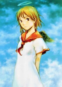 Rating: Safe Score: 8 Tags: abe_yoshitoshi haibane_renmei rakka wings User: Davison