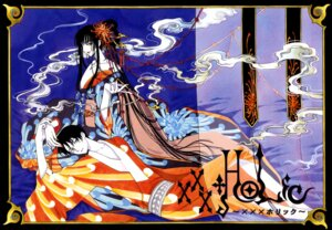 Rating: Safe Score: 9 Tags: clamp ichihara_yuuko screening watanuki_kimihiro xxxholic User: Share