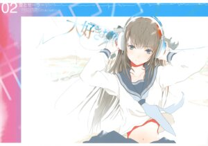Rating: Questionable Score: 44 Tags: fixed fuyuno_haruaki headphones sketch techno_fuyuno User: xuyuxin