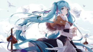 Rating: Safe Score: 94 Tags: dress hatsune_miku kuroi_asahi vocaloid User: Mr_GT
