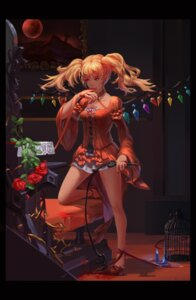 Rating: Safe Score: 51 Tags: blood dress flandre_scarlet heels polskash touhou weapon wings User: Mr_GT