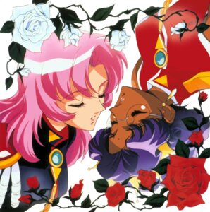 Rating: Safe Score: 5 Tags: himemiya_anthy megane revolutionary_girl_utena tenjou_utena yuri User: Radioactive