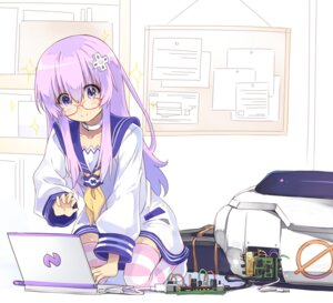Rating: Safe Score: 26 Tags: choujigen_game_neptune megane nepgear normaland thighhighs User: Nepcoheart