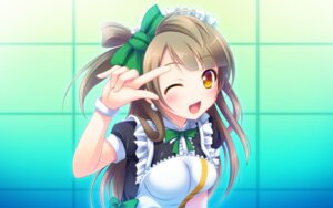 Rating: Safe Score: 44 Tags: love_live! maid minami_kotori miu_(c_blue) wallpaper User: fairyren