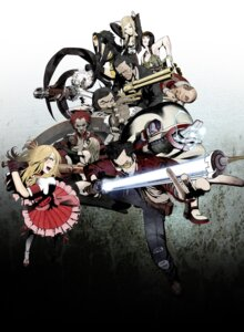 Rating: Safe Score: 15 Tags: bad_girl blood bra cleavage death_metal destroy_man doctor_naomi doctor_peace dress gun holly_summers kozaki_yuusuke lolita_fashion megane no_more_heroes pantyhose randall_lovikov shinobu_jacobs sword sylvia_christel thunder_ryu travis_touchdown User: Radioactive
