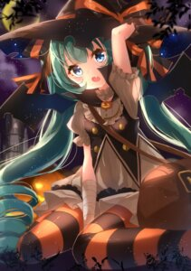Rating: Safe Score: 63 Tags: halloween hatsune_miku jimmy pantyhose vocaloid witch User: Mr_GT