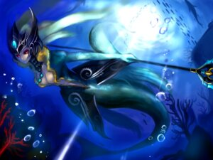 Rating: Safe Score: 21 Tags: aleron cleavage league_of_legends mermaid nami_(league_of_legends) wallpaper User: fairyren