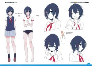 Rating: Safe Score: 26 Tags: bandaid buruma character_design gym_uniform seifuku sketch u35 User: Hatsukoi