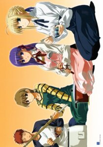Rating: Safe Score: 6 Tags: emiya_shirou fate/stay_night fujimura_taiga matou_sakura saber User: Radioactive