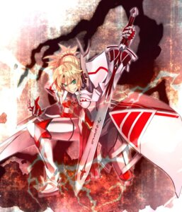 Rating: Safe Score: 23 Tags: akamiso armor fate/apocrypha fate/grand_order fate/stay_night mordred_(fate) sword User: Nepcoheart