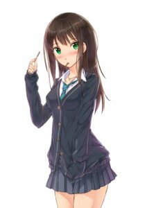 Rating: Safe Score: 21 Tags: kazeno seifuku shibuya_rin the_idolm@ster the_idolm@ster_cinderella_girls User: Anonymous