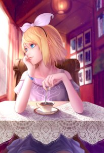 Rating: Safe Score: 38 Tags: kagamine_rin vocaloid wei_ji User: Aneroph