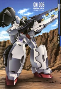 Rating: Safe Score: 12 Tags: gun gundam gundam_00 gundam_virtue mecha yoneyama_kouhei User: Aurelia